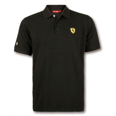Поло Big Scudetto Ferrari BLACK