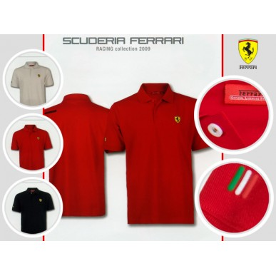 Поло Big Scudetto Ferrari RED