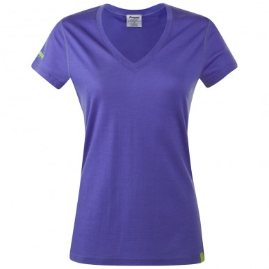 Футболка Bergans Bloom Wool Tee Lady, primula purple