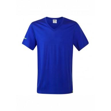 Футболка Bergans Bloom Wool Tee, cobalt blue