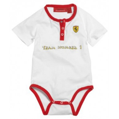 Боди Ferrari Baby Grow Short дет белое