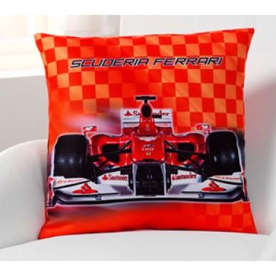 Подушка Ferrari Classic Race 40*40см красный