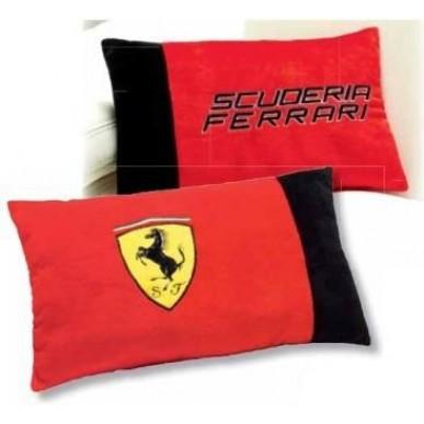 Подушка плюш. Ferrari Classic Logo 25*40см красный