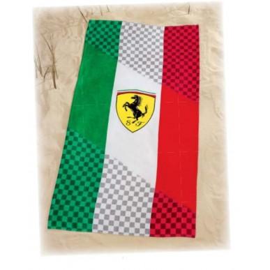 Полотенце Ferrari Italia 75*150см белый