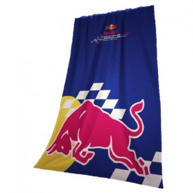 Плед флис. RedBull Racing 130*170см т.синий