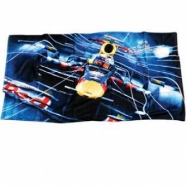 Полотенце Red Bull Race 80*160см т.синий