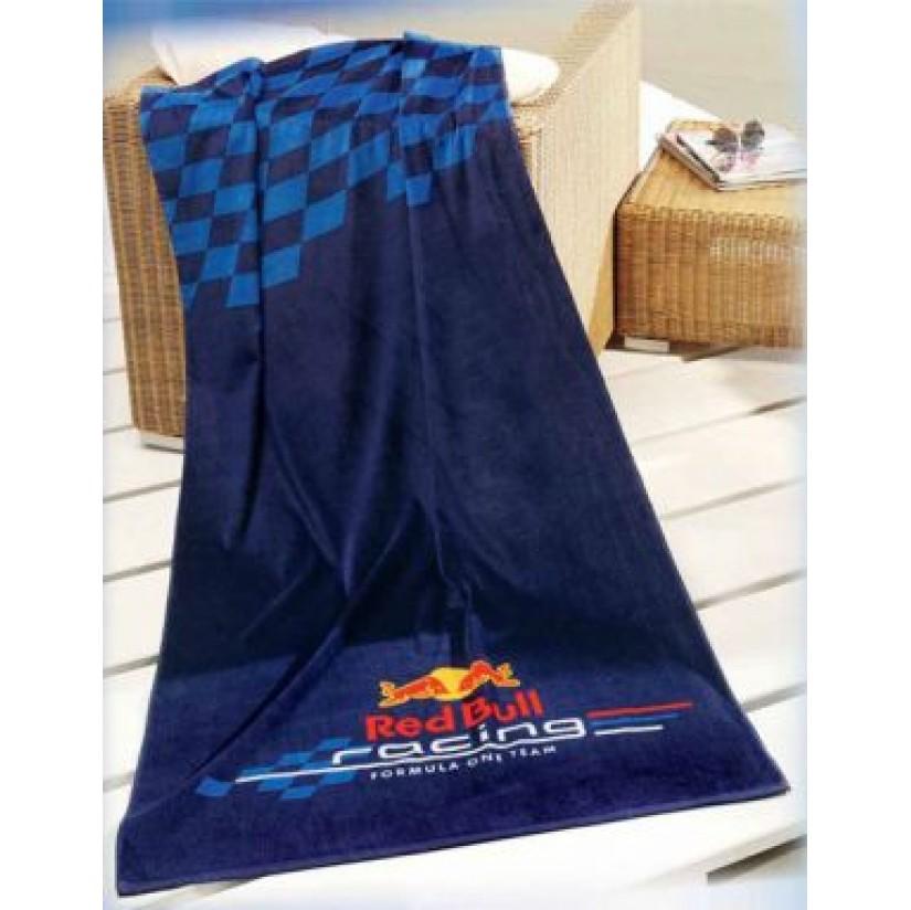 Полотенце Red Bull Logo 80*160см т.синий